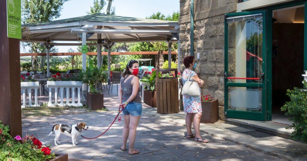 Kamperen in Italie met hond